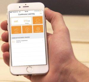 continu verbeteren leer-app